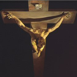Dali - Christ of St John of the Cross