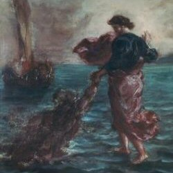 Delacroix - Christ Walking on Water